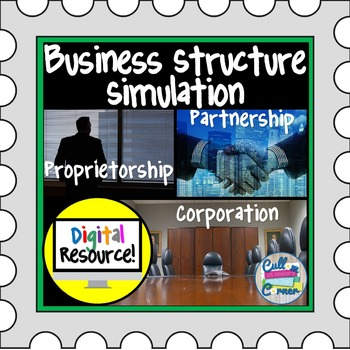 Business Structures Simulation - Google Drive Product