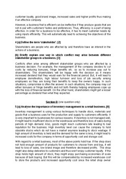 Business Studies - AS Level - Paper 1 - Specimen