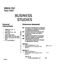 Business Studies Assessment Paper for Operations Management