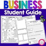 Student Business Planning Guide | Student Stores | Market Day