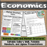 Business Types and Market Structures Gallery Walk and Activities