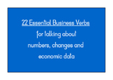 Business Verbs for Talking About Numbers