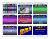 Business-Work Slang Jeopardy PowerPoint Game