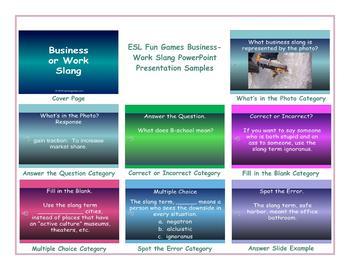 Business-Work Slang PowerPoint Presentation