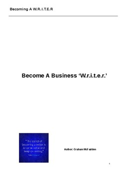 Business Writing Course - Intermediate Level and Above