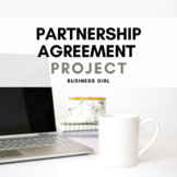 Business Writing: Online Store Partnership Agreement (Business Ownership)