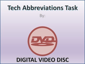 Business and Career Skills - Common Tech Abbreviations