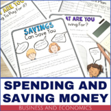 Business and Economics – Earning, Spending and Saving Money