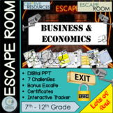 Business and Economics Escape Room