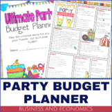 Business and Economics – Party Budget Planner