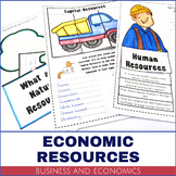 Business and Economics - Resources Activity Pack
