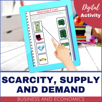 Business and Economics - Scarcity, Supply and Demand DIGITAL
