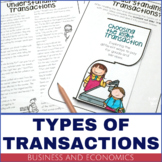 Business and Economics – Types of Financial Transactions