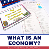 Business and Economics Vocabulary - PRINTABLE Dictionary Flip Book