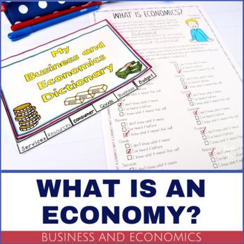 Business and Economics Vocabulary - PRINTABLE Dictionary Flip Book