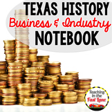 Business and Industry in Texas Notebook Kit