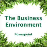 Business environment powerpoint