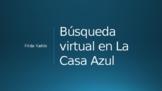 Búsqueda virtual en La Casa Azul de Frida Kahlo v2 (Versió