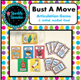 Bust A Move Articulation /j/- A Speech Therapy Game ALL Positions