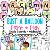 Alphabet Game and Worksheets for Kindergarten