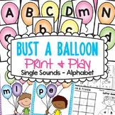 Alphabet Game and Worksheets for Kindergarten