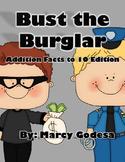 Bust the Burglar BUNDLE {Sight Word and Math Games}