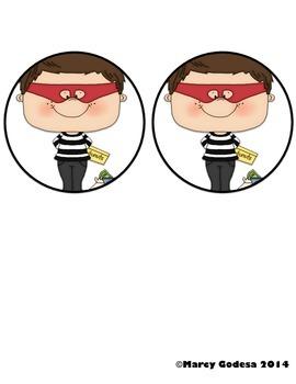 Bust the Burglar {Sight Words Edition 2}