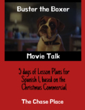 Buster the Boxer Christmas Commercial Movie Talk Lesson Plans