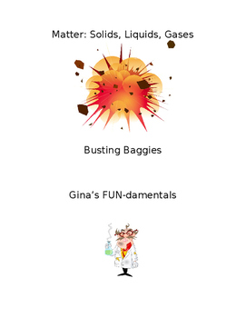 Busting Baggies / Matter Experiment