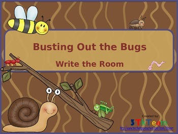 Busting out the Bugs - Write the Room
