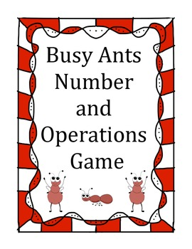 Busy Ants Addition Challenge Game