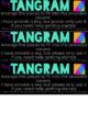 Busy Bag: Tangram Rules