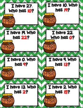 Busy Bears and Bees Number Sense Pack