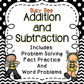 Busy Bee Addition and Subtraction