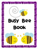 Busy Bee Book- Interactive Student Binder- Reading, Math,