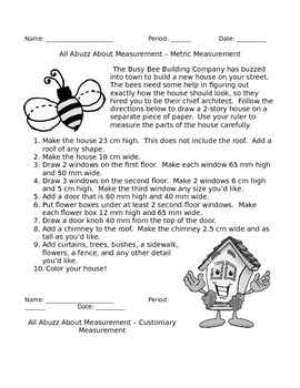 Busy Bee Building - Metric and Customary