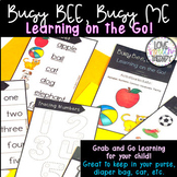 Busy Bee, Busy Me!  Learning on the GO Activities! Grab n Go!