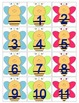 Busy Bee Calendar Cards with an ABC Pattern