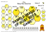 Busy Bee Doubles to 24 Board Game
