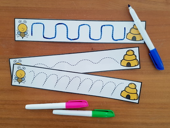 Line Tracing Cards