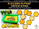 Busy Bee Math Activities for Preschoolers