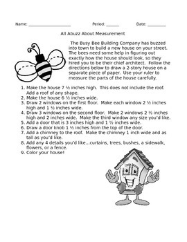 Busy Bee Measurement House - Customary
