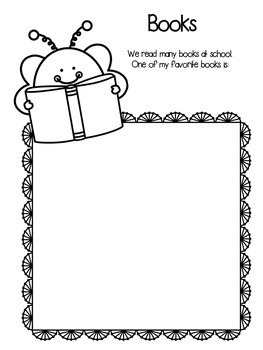 """End of the Year Memory Book... """"My Busy Bee School Year"""""""