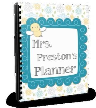 Busy Bee Simple Teacher Planner Set
