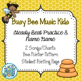 Music Busy Bee Music Kids - Steady Beat Practice & Name Game