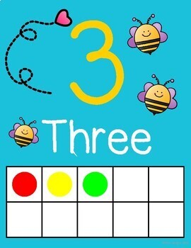 Busy Bee - Number Posters