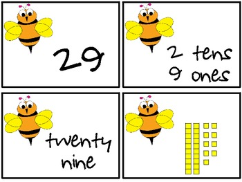 Busy Bee Place Value Game