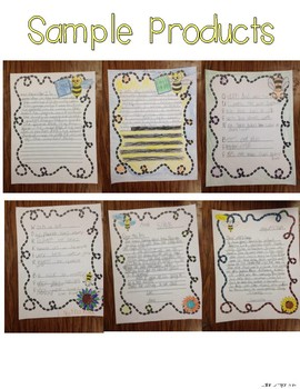 Busy Bee Portfolio - Writing, Science, and Research Activities