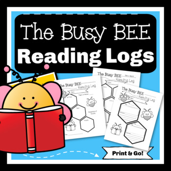 Busy Bee Reading LOG Comprehension Check Packet