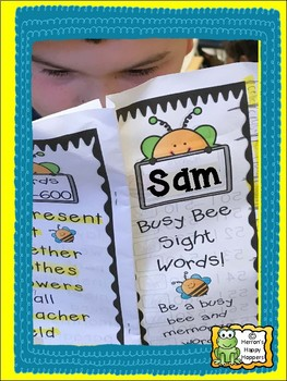 Busy Bee Sight Words 1-250 to Memorize